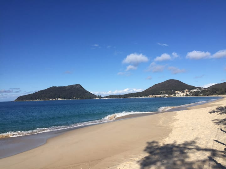 The bush, the Beach, its all here at Shoal Bay.