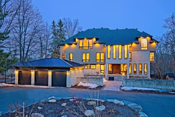 NEW 12,000 ft² Waterfront Mansion in the Capital!!