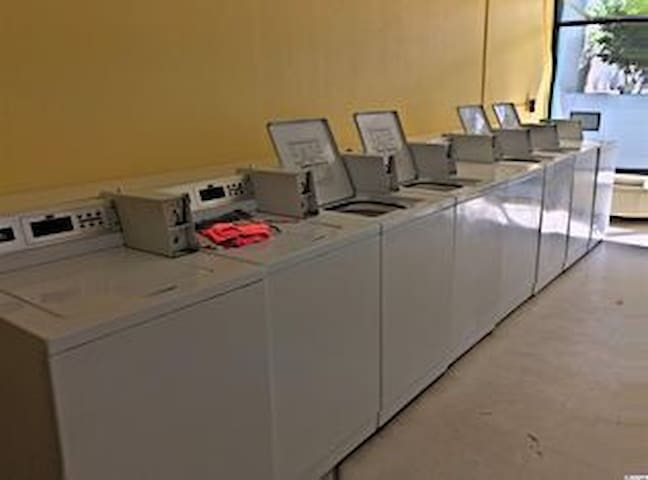 Resorts coin operated laundry mat