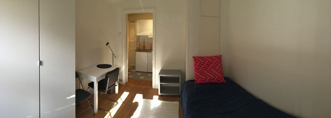 Cosy studio, newly renovated, close to everything