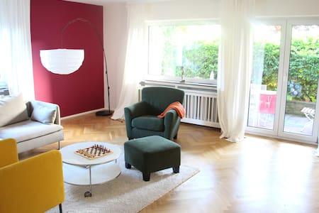 Wohnung zum Wohlfühlen mit Messe-/Stadtanschluss - Bad Soden - Osakehuoneisto