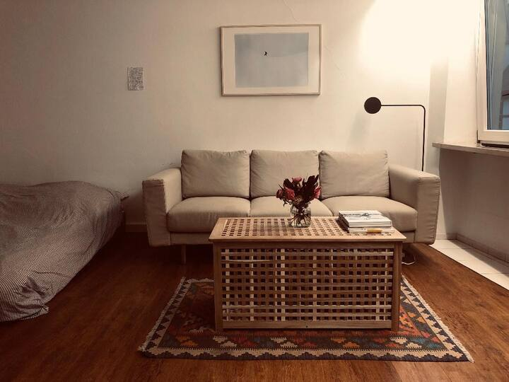 Charming and artsy 45msq studio in city old town