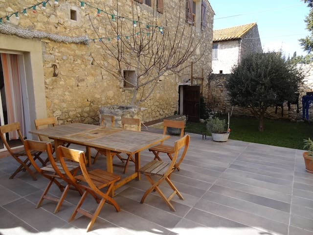 Maison de vacances idéale - Roquefort-des-Corbières - Huis