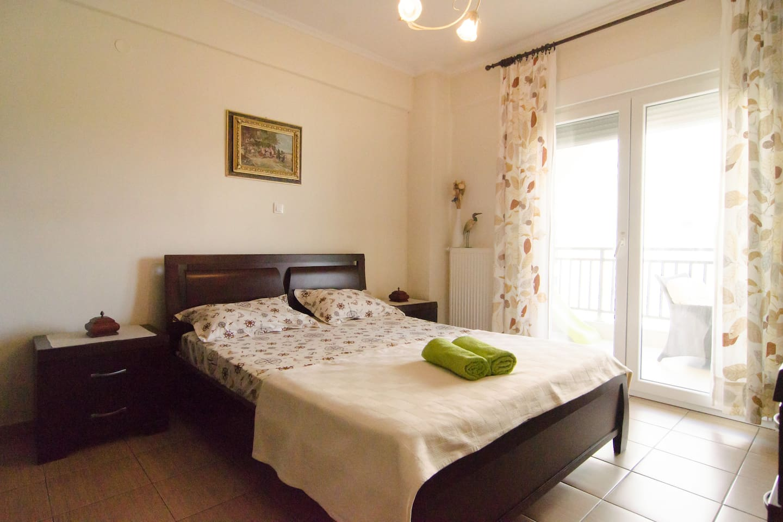 Main bedroom with seaview balcony
