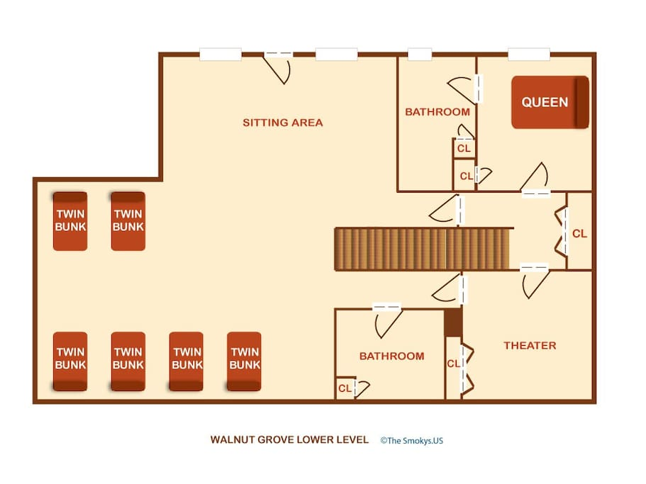 Walnut Grove (#2)-Floor Plan