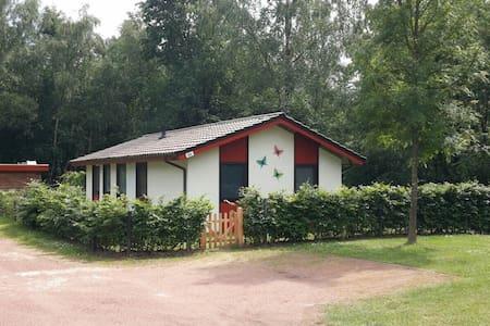 Aan bosrand gelegen vakantiehuis op vakantiepark - Uelsen - Rumah