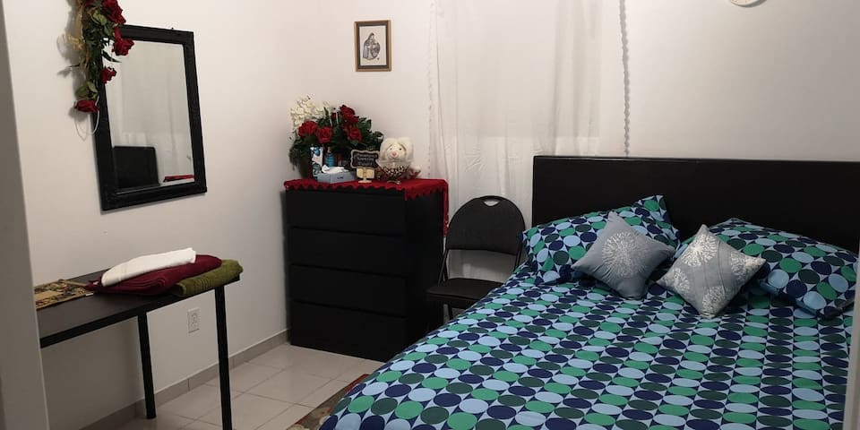 Clean Room with private Washroom & Entrance