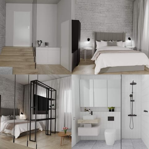Apartments in the city center. New & Modern