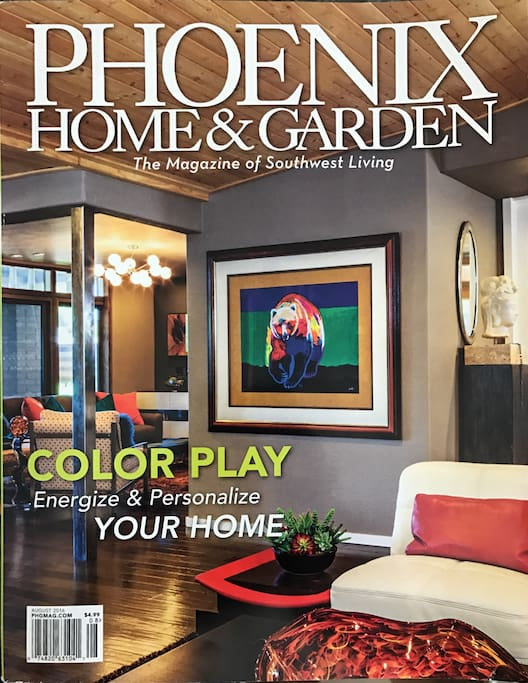 Cover of Phoenix Home and Garden Magazine