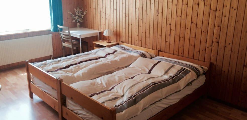 Gemütliches Zimmer neben Skilift - Flühli - Bed & Breakfast