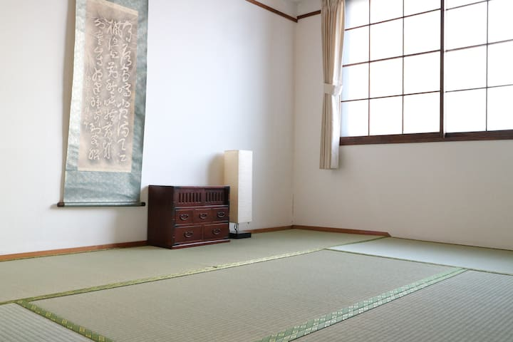 Open!New Tatami bed room