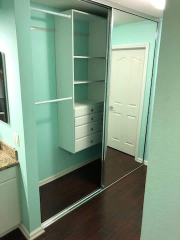 Bunk Room Closet