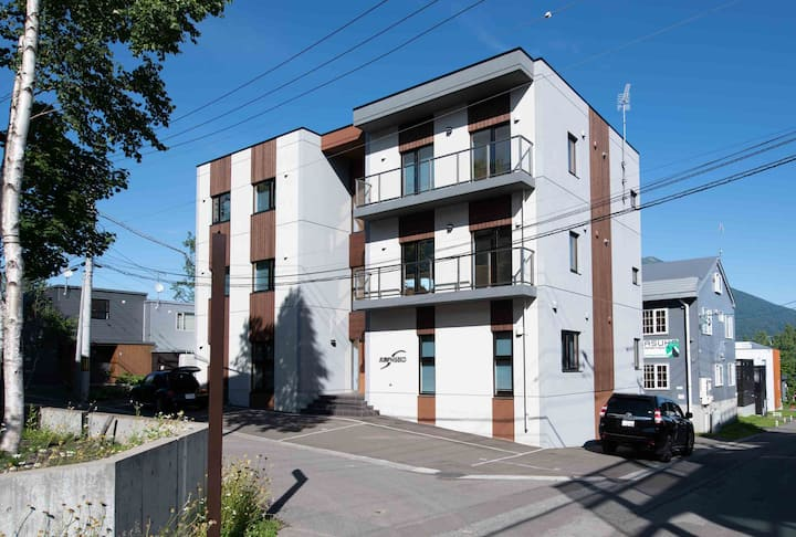 Flow#5 2 bdr apartment in Central Hirafu