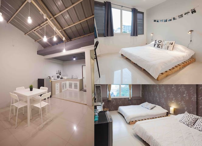Overmoon BKK *2BR+2bath+kitchen up to 6 persons