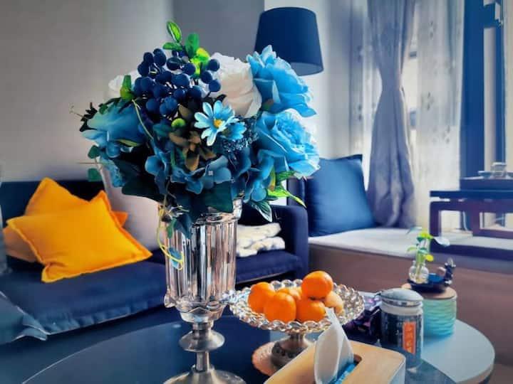 面朝大海春暖花开一蓝海Loft海景公寓