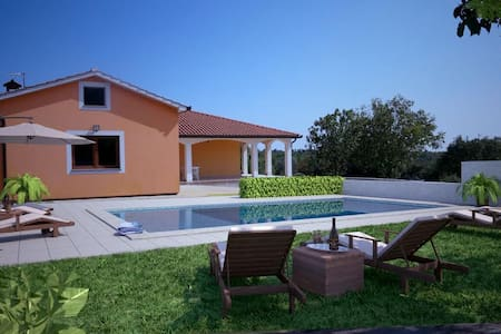 Beautiful modern Villa Anavi with private pool - Bičići - Villa