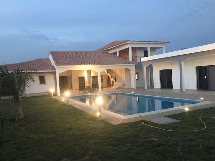 Villa de luxe à ngaparou