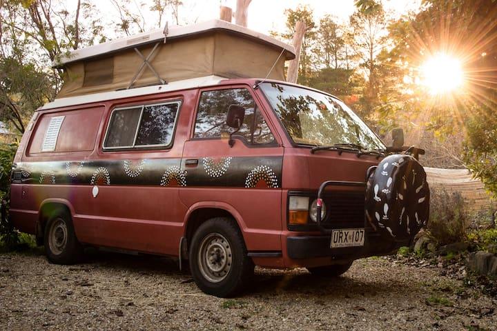 Campervan Retro & Romantic