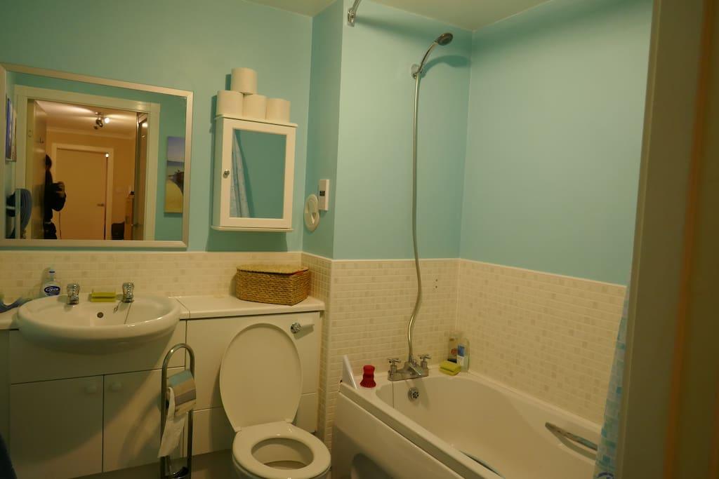 Private bathroom (owner has own ensuite)
