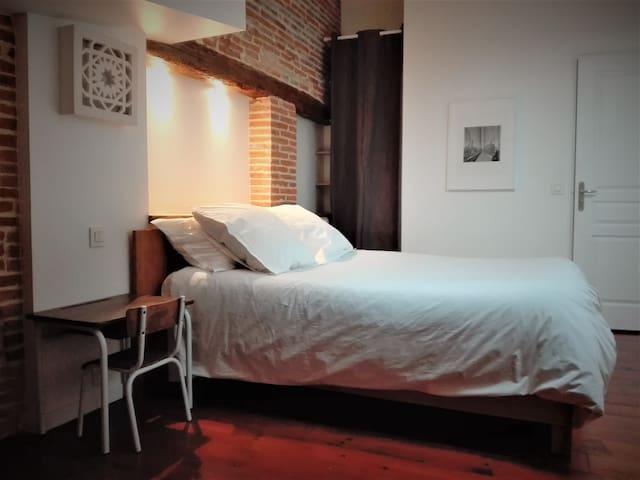 Charmant appartement T2 entièrement rénové - Grisolles - Apartamento