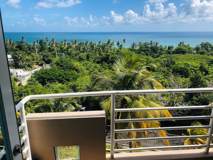 Ocean and lighthouse view apartment  in Maunabo