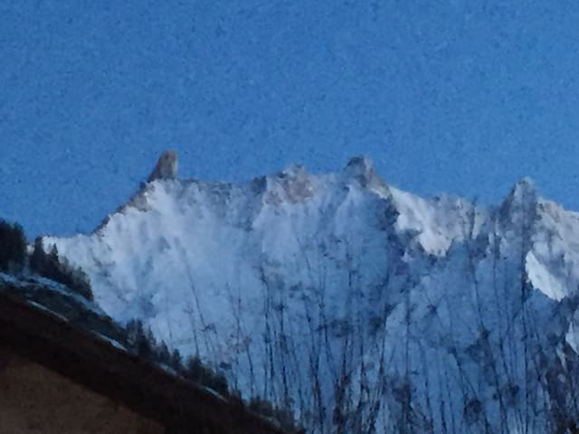Winter view from the kitchen ... il dente del gigante