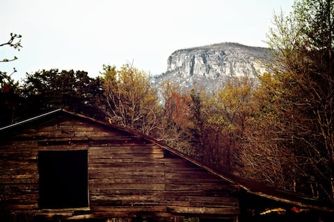 Stone Farmhouse on Old NC 105