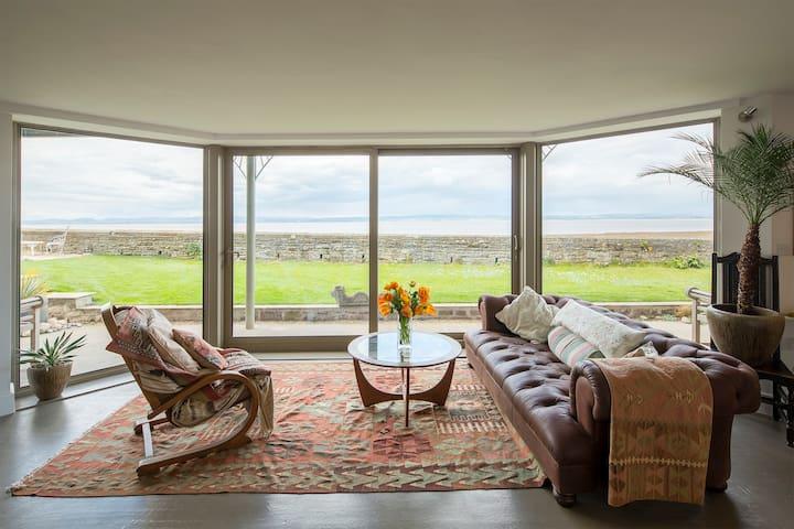 Luxury and panoramic coastal view