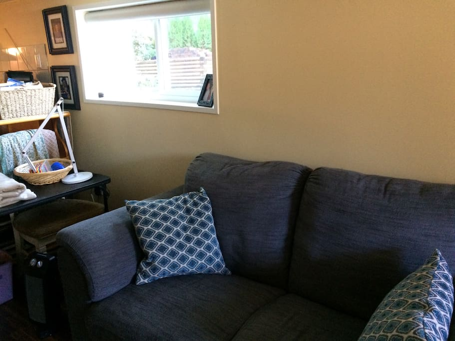Loveseat for watching TV