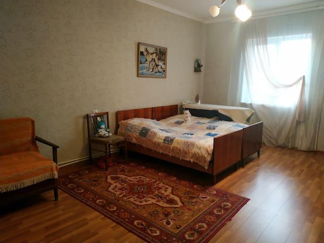 Bedroom in a second floor