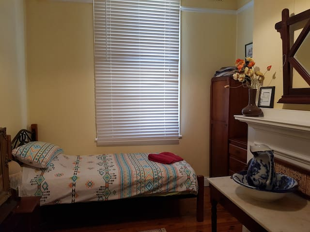 Twin room, bed one