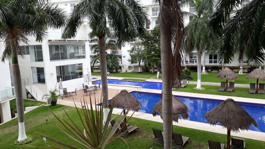 Departamento compartido en cancun