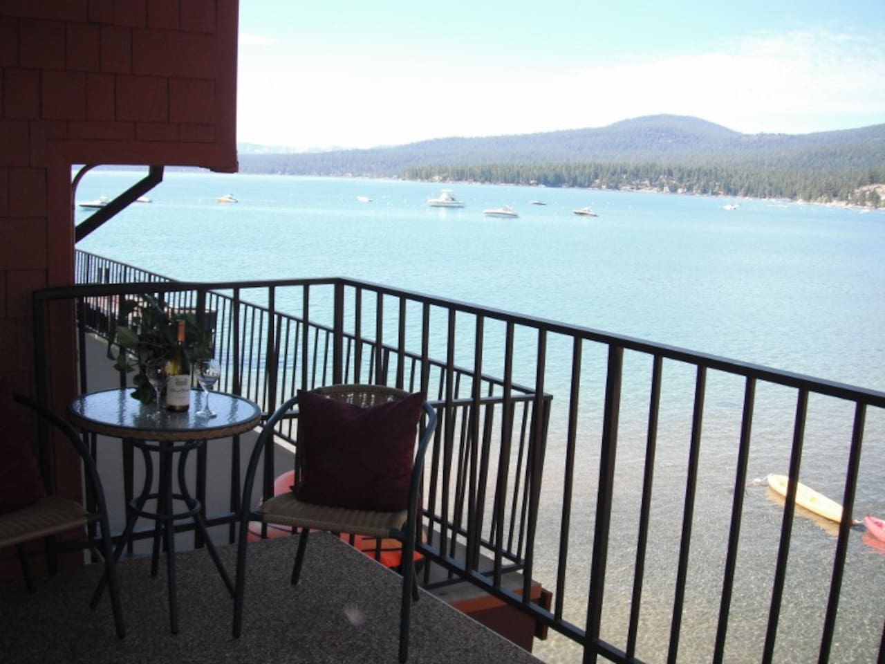 Lake Front from Patio