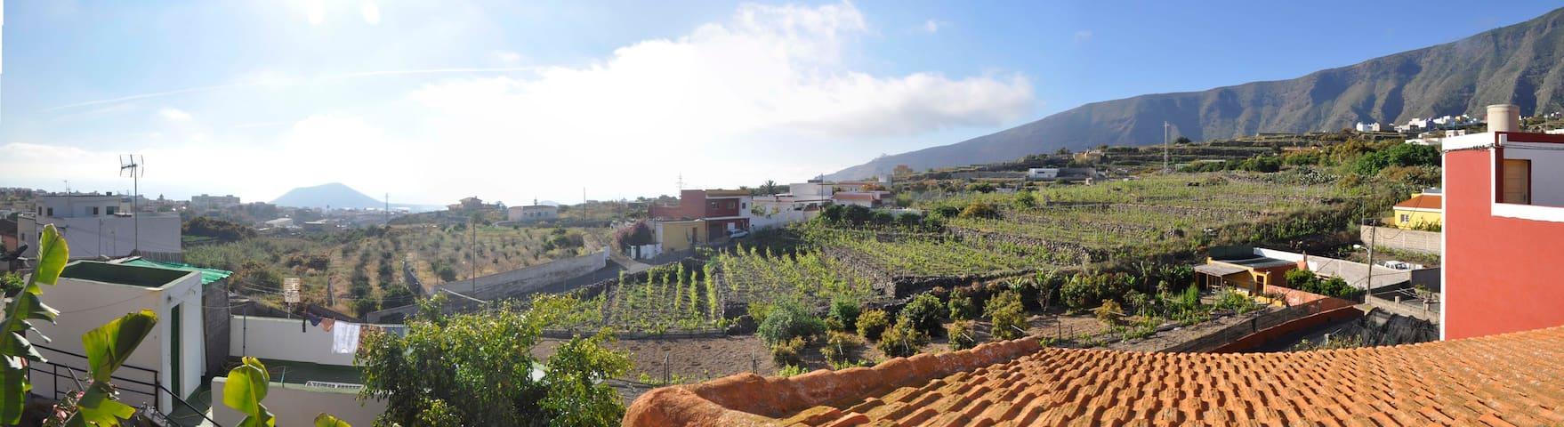 Casa rural con vistas - Güímar - Ev