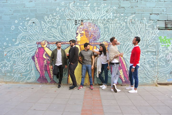View vibrant street art