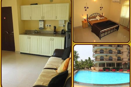 01) Luxury Serviced Apartment Close To The Sea - Baga