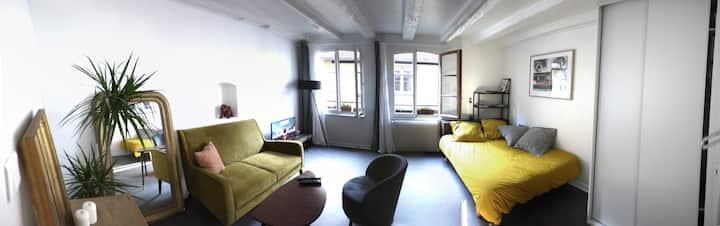 Appartement plein de charme rue Sainte Madeleine