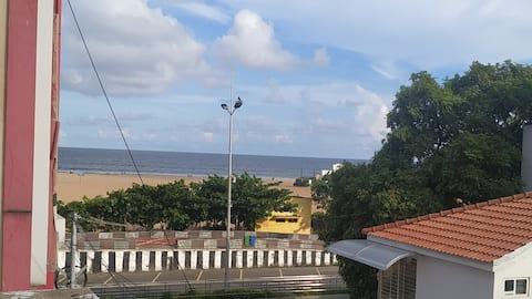Beach side 3BHK A/C Independent house with Parking