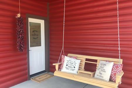 The Little Red Cabin @ Ein Gedi Farm