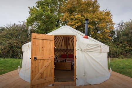 Luxury Yurt 2 at Hale Farm Campsite - Chiddingly - 蒙古包