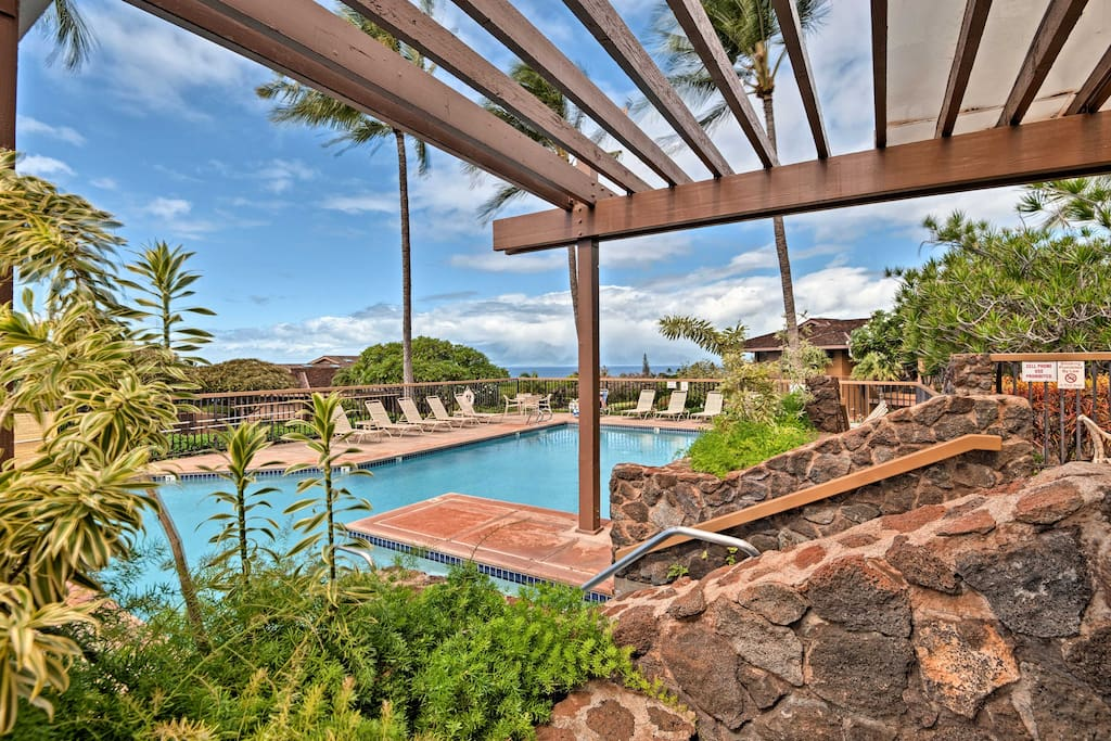The Masters at Kaanapali Hillside is a resort-like, gated community!