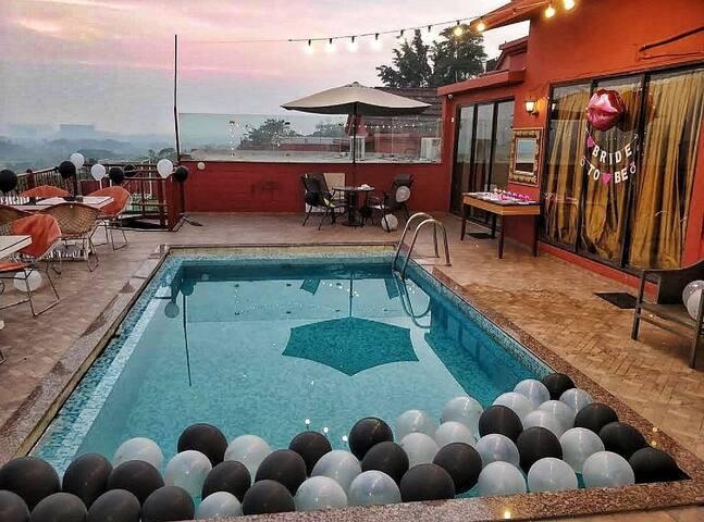 The Hill Side Pool Villa , Mumbai.