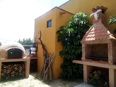Casa de Campo La Malinche, para 2 o 4 personas.