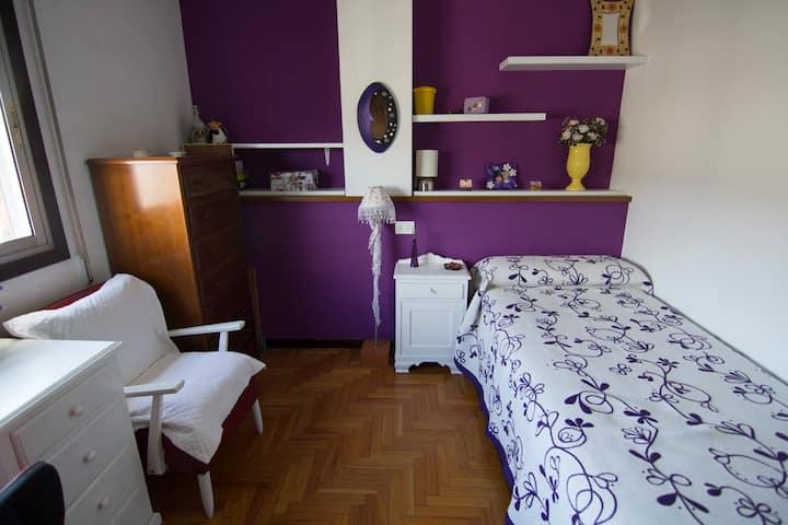 Habitación individual con wi-fi