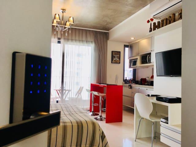 Comfortable Studio in Vila Olimpia / Self Check-in