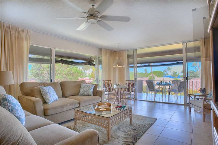 Maui's #1 KAANAPALI  BEACH, TOP FLOOR, 3 BEDS  - L200
