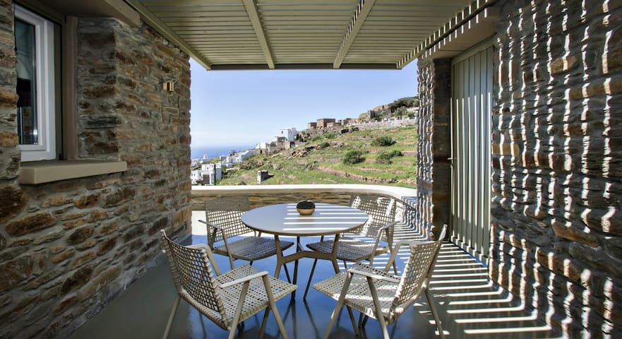 Family Sea View Residence A - Triantaros - Villa