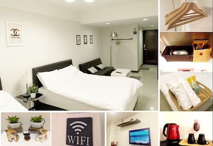 Ximen Station 3 mins/Free wifi/Building Elevator - 西門町 - Apartment