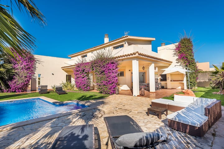 Villa 8 Luxury Silence Paradise, Pool, Wifi, Kids,