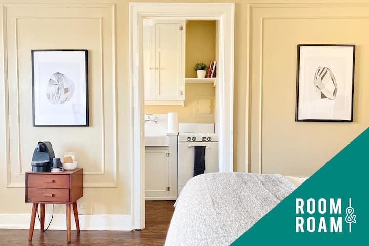 RB | Studio | 704 · Room & Roam | Country Club Plaza | Historic Studio